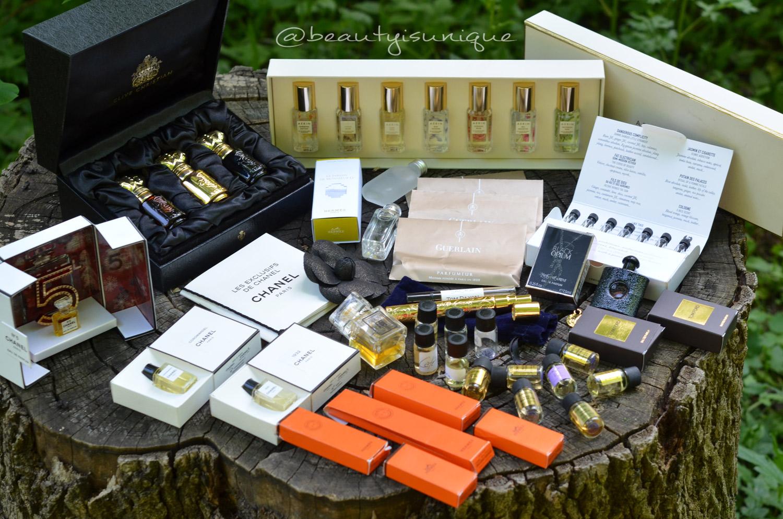 Parfum-Miniaturen-Sammlung