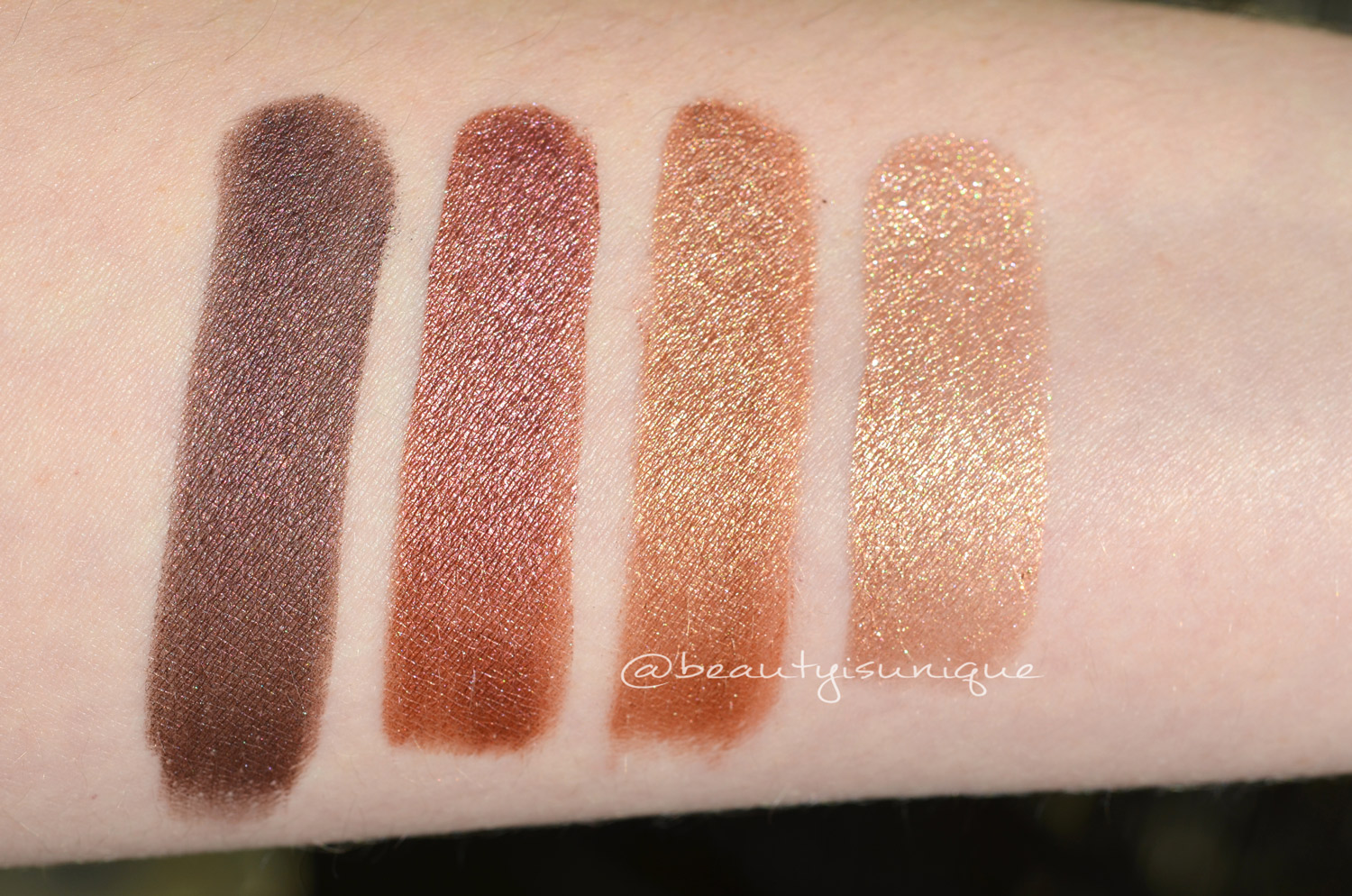 Tom Ford Honeymoon swatches