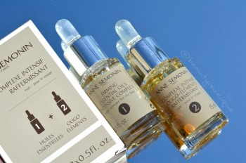 Anne Semonin Firming essential oils intensive complex