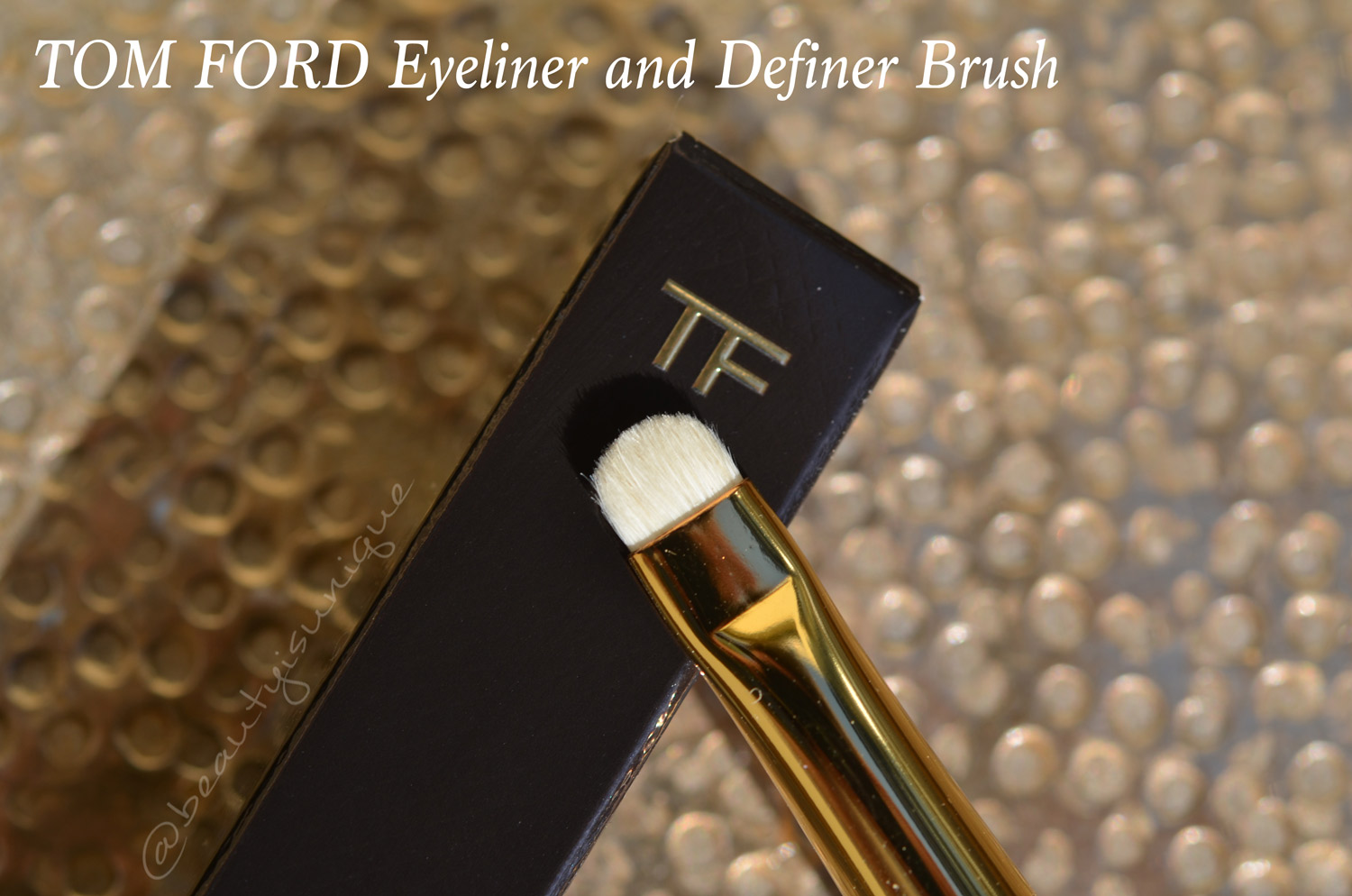 Tom Ford Eyeliner and Definer Brush