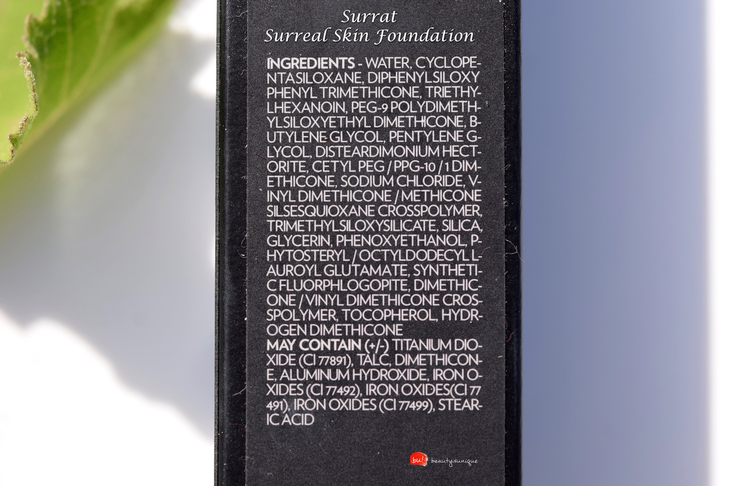 surrat-surreal-skin-foundation-ingredients