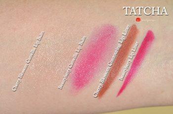 Tatcha-beautyberry-camellia-lip-balm-swatches