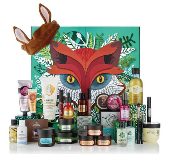 Bodyshop-advent-calendar-ultimate-2018-beautyisunique