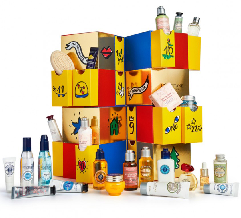 Loccitane-luxury-advent-calendar-2018-beautyisunique
