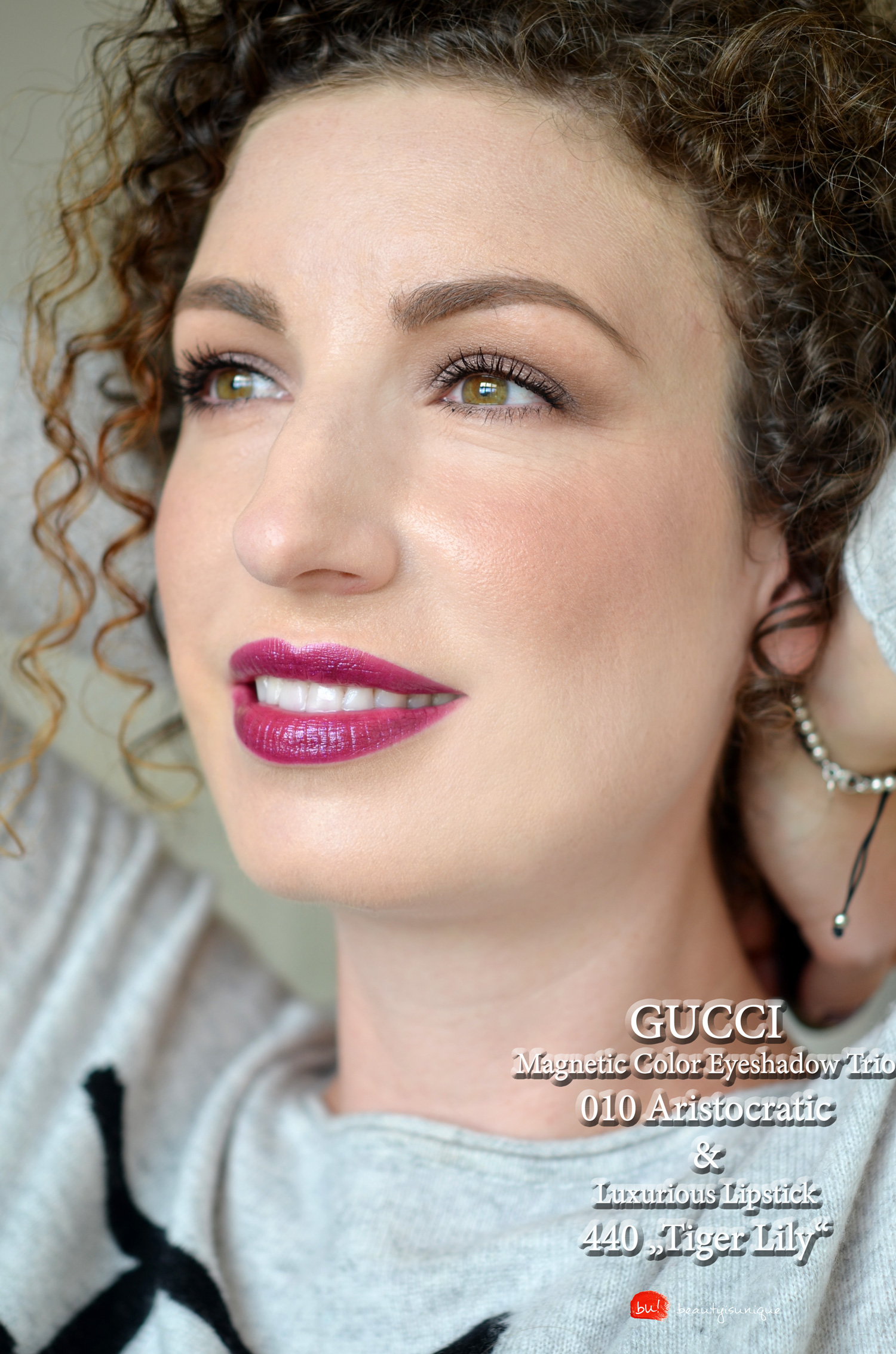 Gucci-tiger-lily-lipstick-swatches
