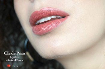 Cle-de-Peau-lipstick-lotus-flower-swatches