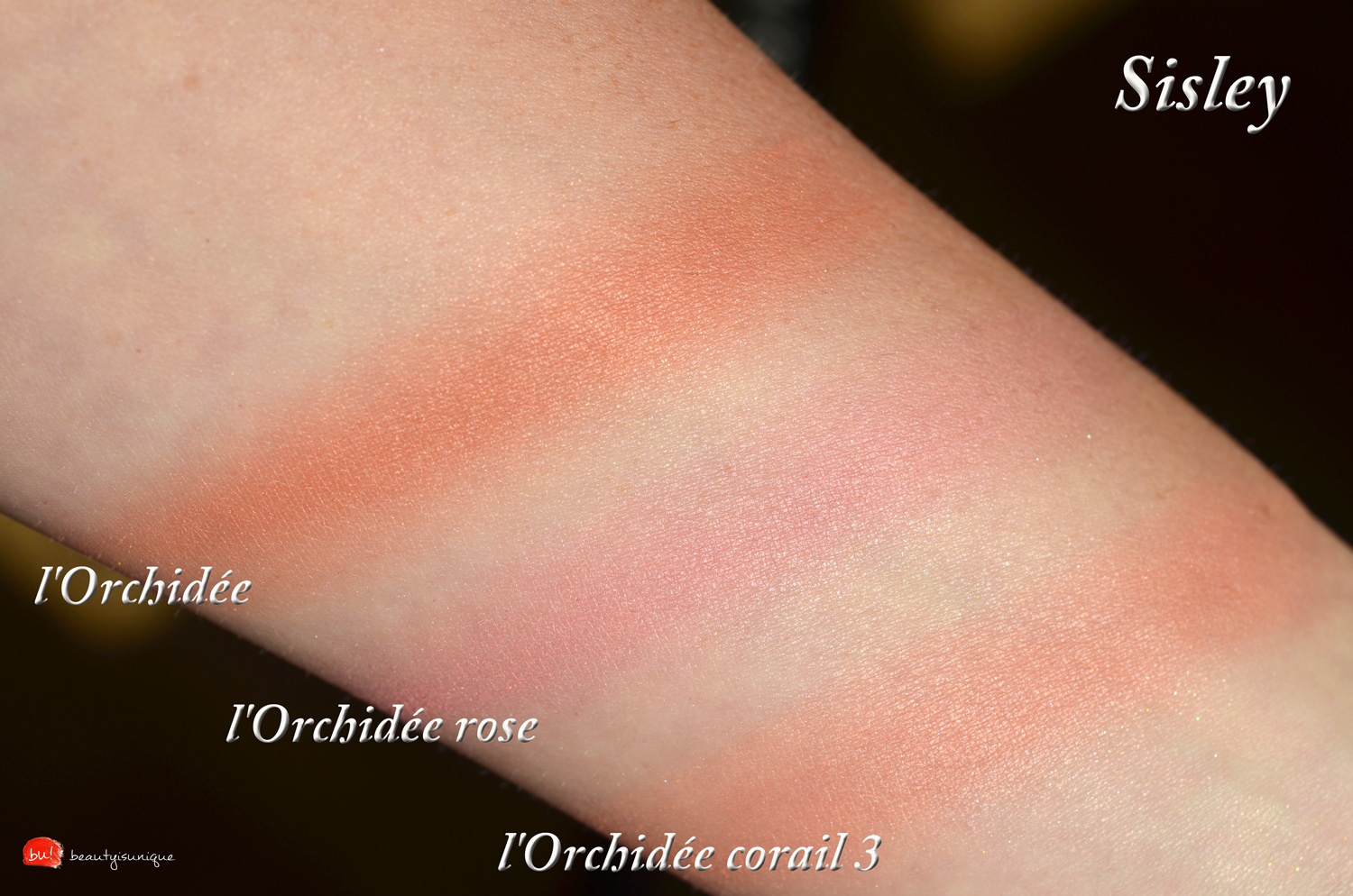 sisley-l'orchidee-corail-3-swatches