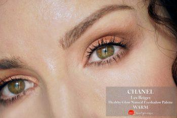 Chanel-les-beiges-palette-warm-swatches